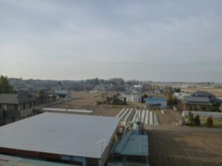 鴻巣市屈巣K樣 前橋局方向の景色(完了)。