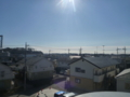 東松山市松本町O樣 東京タワー方向の景色。