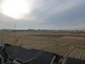 鴻巣市寺谷M樣 児玉局方向の景色。