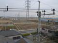鴻巣市寺谷M樣 東京タワー方向の景色。