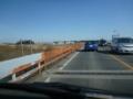 これから千葉県へ。流山橋です。