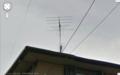 既設アンテナの確認に - Googleストリートビュー。