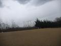 午後から、不安定な風強く、天候が急変してきました。