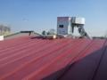 平片流れ屋根です。
