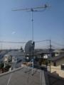 加須市南町S樣 アンテナ工事完了。