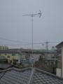 熊谷市大原I樣 アンテナ工事完了。