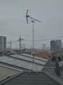桶川市朝日T樣 東京タワー方向の景色(完了)。