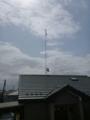 午前中は、BSアンテナ追加工事へ。
