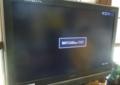 スカイツリーテスト送信時に、画面が真っ暗です。