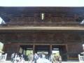 本堂はその先。門 - 善光寺。