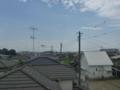 久喜市下清久K樣 東京スカイツリー方向の景色(完了)。