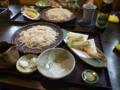 深谷市 辻九さんでそばを食べる。
