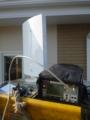 試験測定用フラットアンテナUAH800で測定します。