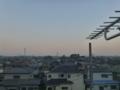 鴻巣市天神K様 東京スカイツリー方向の景色。