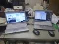 新レッツノートCF-NX3(左)と、今までのCF-N8(右)です。
