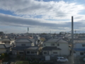 鴻巣市松原S様 東京スカイツリー方向の景色(完了)。