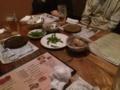 熊谷の一石二鳥さんで、高校同級との忘年会です。