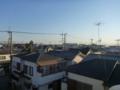 加須市東栄Y様 東京スカイツリー方向の景色。