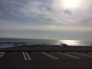 大洗海岸です。
