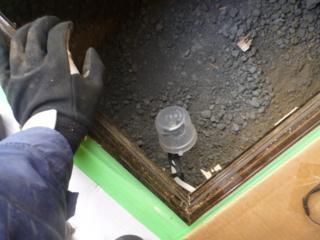 各結線は、ナイスハットで、床下点検口際に。