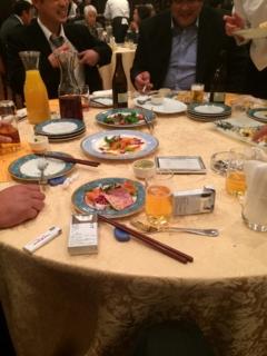 今日は、電気工事組合行田支部の2014年新年会です。