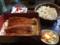鰻と蕎麦のセットです。 - 辻九 宿根店。