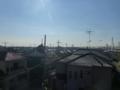 久喜市北青柳K様 東京スカイツリー方向の景色(完了)。