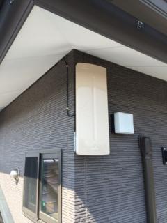 鴻巣市関新田U様 アンテナ工事完了。