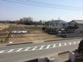 鴻巣市関新田U様 東京スカイツリー方向の景色(完了)。