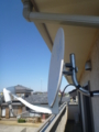 鴻巣市屈巣F様 アンテナ工事完了(BS)。