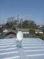 蓮田市見沼町S様 東京スカイツリー方向の景色(完了)。