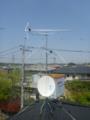嵐山町平澤S様 アンテナ工事完了。