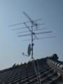 熊谷市新島W様 アンテナ工事完了。