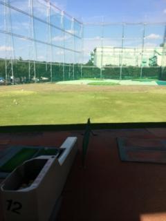 上尾のアミダヤマゴルフジョイでゴルフ練習です。