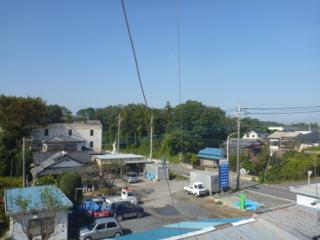 熊谷市小江川K様 児玉局方向の景色。