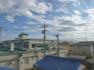 加須市南町A様 東京スカイツリー方向の景色(完了)。