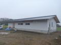 北本市高尾の新築現場です。