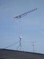 羽生市南O様 アンテナ工事完了。