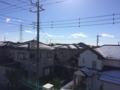 久喜市南栗橋Y様 東京スカイツリー方向の景色(完了)。