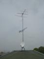行田市城西M様 アンテナ工事完了。