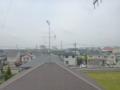 行田市城西M様 児玉局方向の景色。