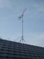 鴻巣市登戸T様 アンテナ工事完了。