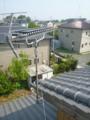 加須市麦倉S様 アンテナ工事完了。