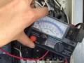 照明箇所の漏電の改善確認です。