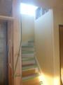 階段もいつの間にか出来上がっています。