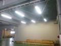 LED照明点灯。