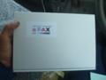 aFAXの外箱です
