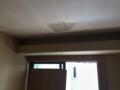 開口してた天井ボードが戻せました2。