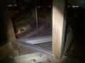 そして、2Fの天井裏へ。