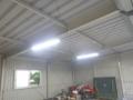 今日は、車庫の電気工事です。
